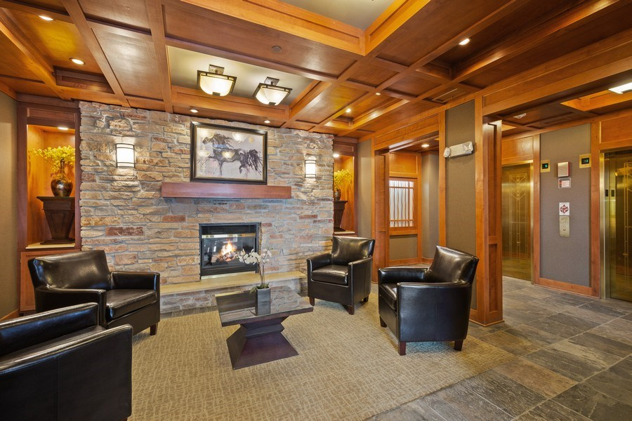 Real Estate Photography - 115 Prairie Park Dr #205, Wheeling, IL, 60090 - Lobby