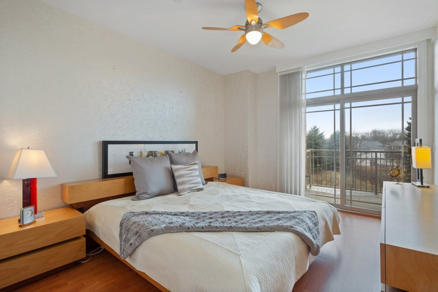 Real Estate Photography - 115 Prairie Park Dr #205, Wheeling, IL, 60090 - Master Bedroom