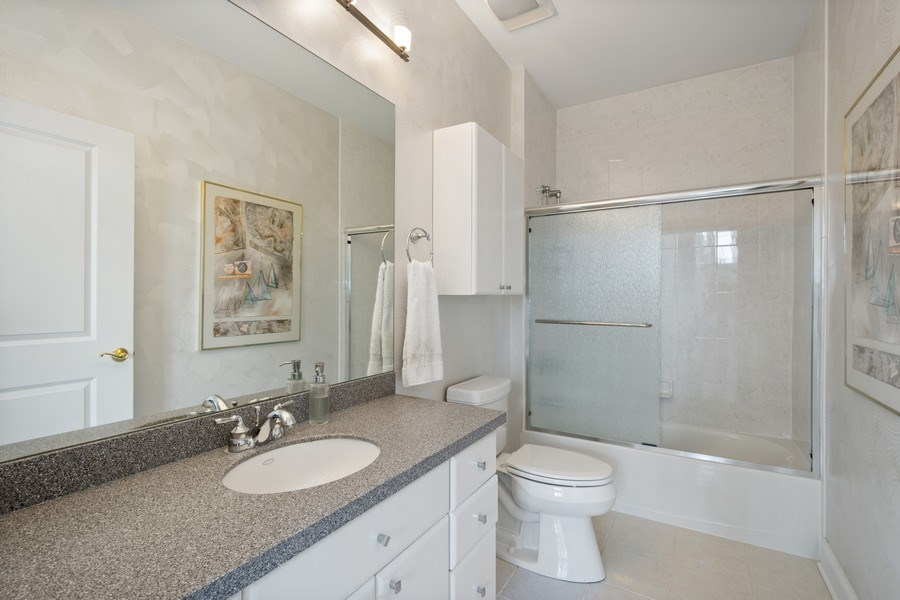 Real Estate Photography - 115 Prairie Park Dr #205, Wheeling, IL, 60090 - 2nd Bathroom