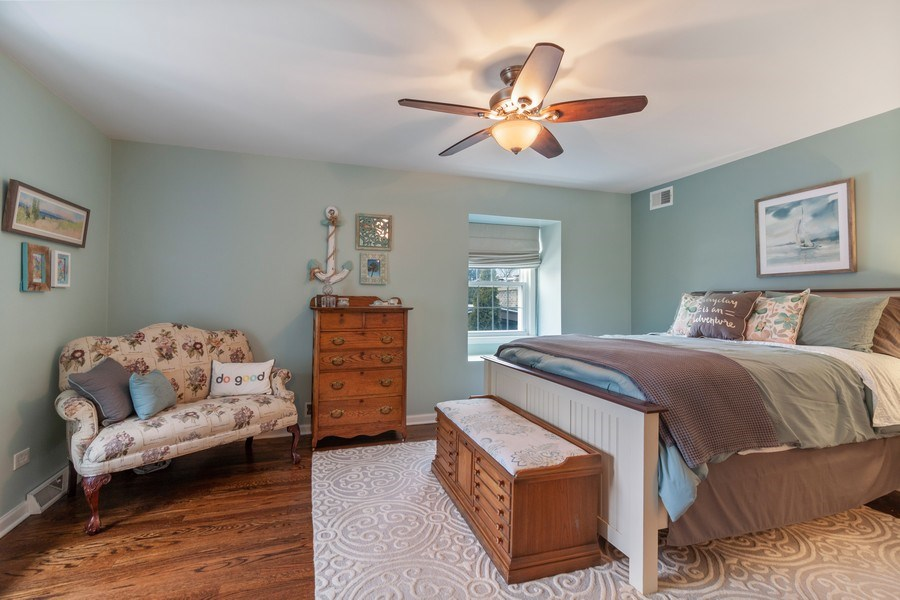 Real Estate Photography - 908 James Ct, Wheaton, IL, 60187 - Master Bedroom