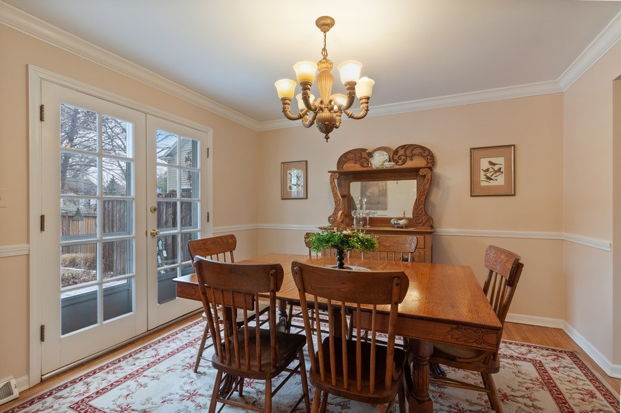 Real Estate Photography - 908 James Ct, Wheaton, IL, 60187 - Dining Area