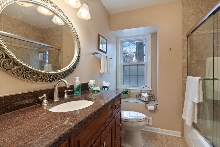 Real Estate Photography - 908 James Ct, Wheaton, IL, 60187 - Bathroom