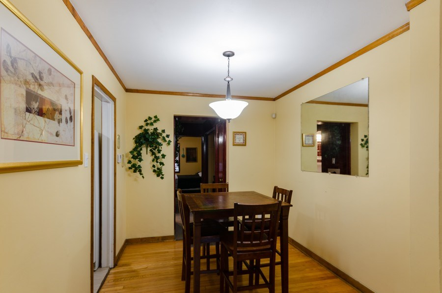 Real Estate Photography - 9830 S Yates Blvd, Chicago, IL, 60617 - Dining Room