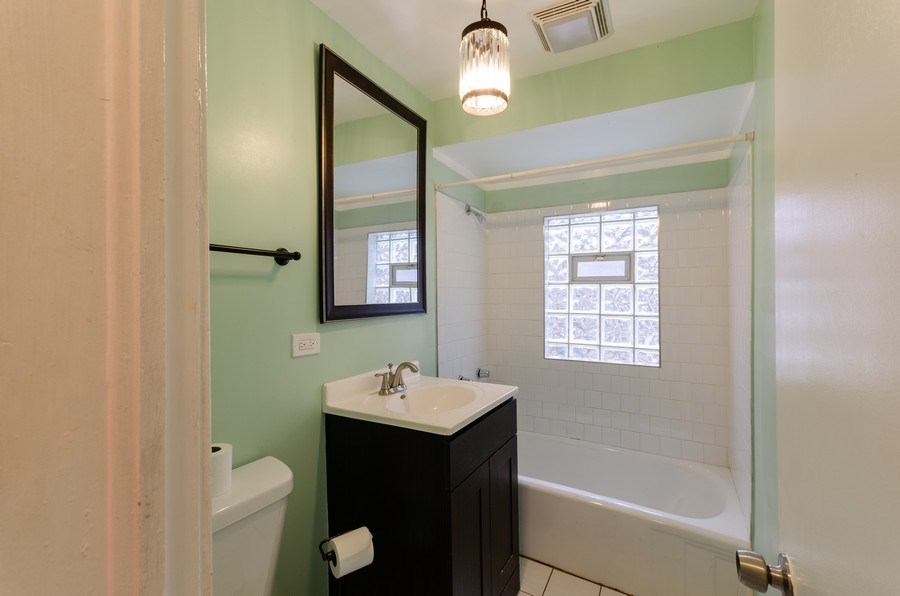 Real Estate Photography - 9830 S Yates Blvd, Chicago, IL, 60617 - Bathroom