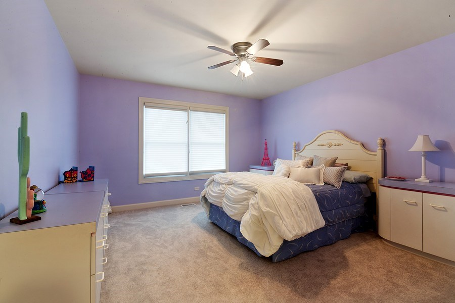 Real Estate Photography - 1057 Linden, Deerfield, IL, 60015 - 2nd Bedroom