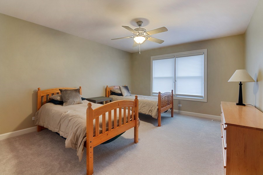 Real Estate Photography - 1057 Linden, Deerfield, IL, 60015 - 3rd Bedroom