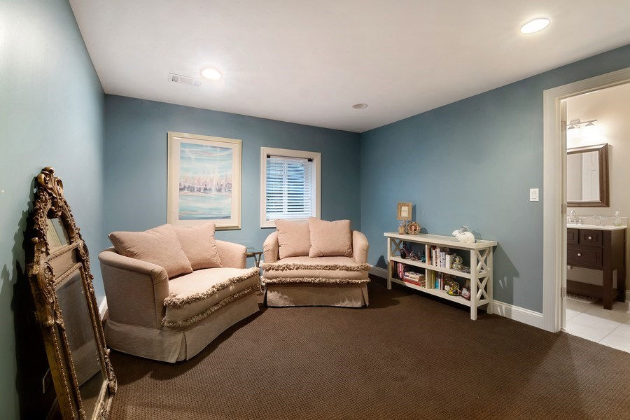 Real Estate Photography - 1057 Linden, Deerfield, IL, 60015 - 4th Bedroom