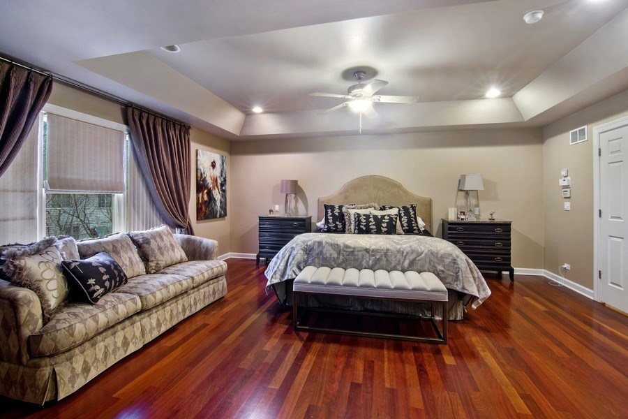 Real Estate Photography - 1057 Linden, Deerfield, IL, 60015 - Master Bedroom