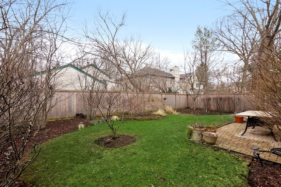 Real Estate Photography - 1057 Linden, Deerfield, IL, 60015 - Back Yard