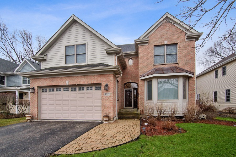 Real Estate Photography - 1057 Linden, Deerfield, IL, 60015 - Front View