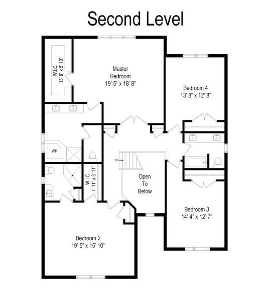 Real Estate Photography - 1057 Linden, Deerfield, IL, 60015 - Floor Plan