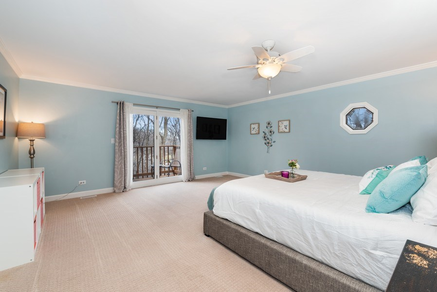 Real Estate Photography - 1005 Wild Rose Springs Dr, Saint Charles, IL, 60174 - Master Bedroom