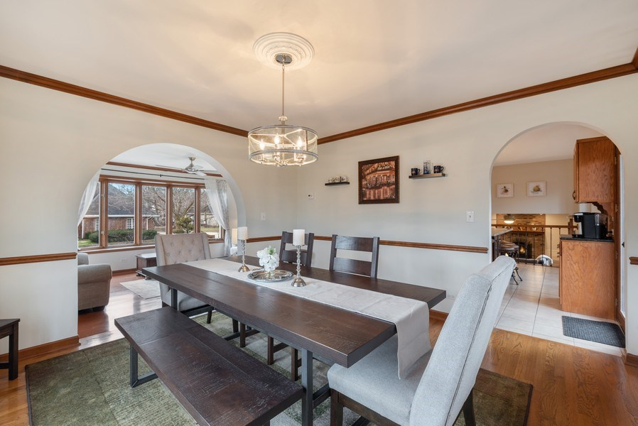 Real Estate Photography - 1005 Wild Rose Springs Dr, Saint Charles, IL, 60174 - Dining Room
