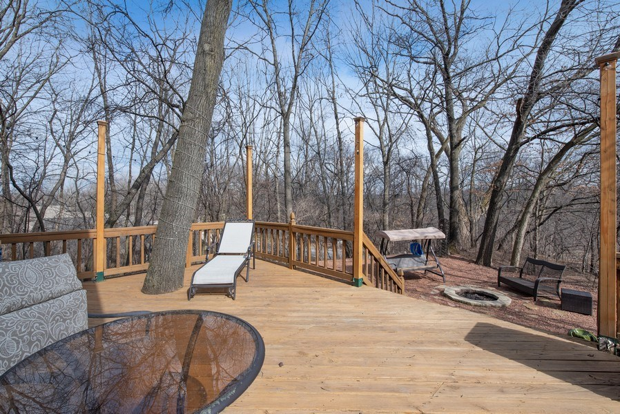 Real Estate Photography - 1005 Wild Rose Springs Dr, Saint Charles, IL, 60174 - Deck