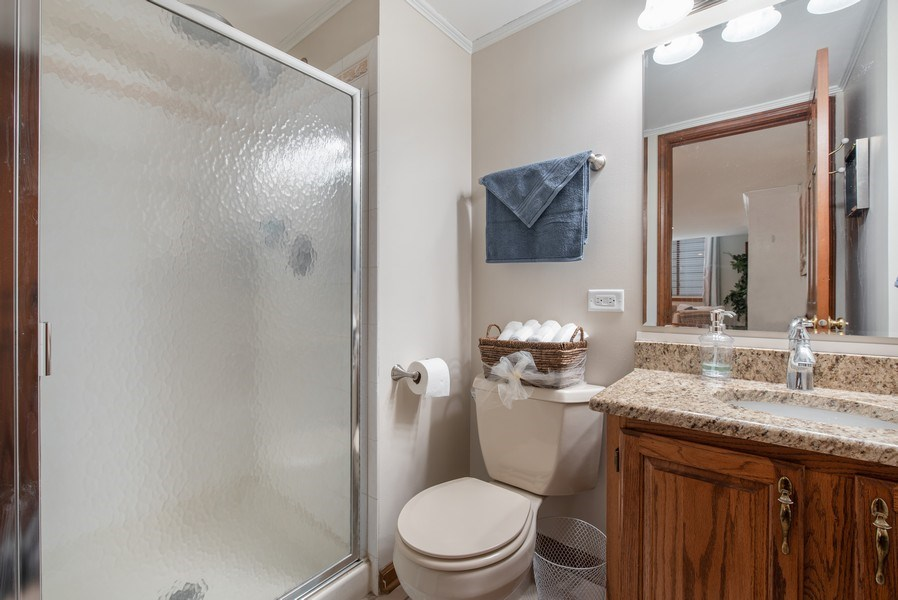 Real Estate Photography - 1005 Wild Rose Springs Dr, Saint Charles, IL, 60174 - Guest Bathroom