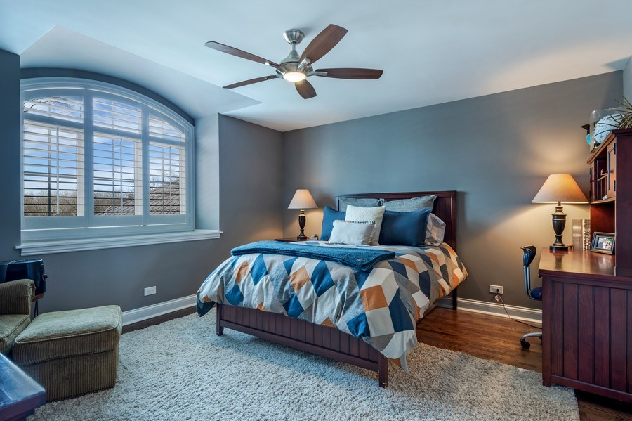 Real Estate Photography - 5 Wescott Lane, South Barrington, IL, 60010 - 3rd Bedroom