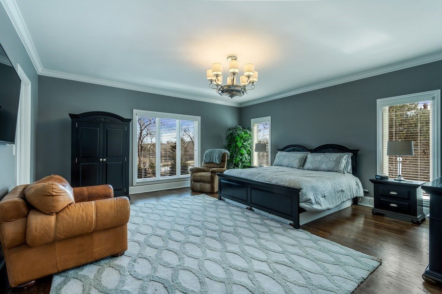 Real Estate Photography - 5 Wescott Lane, South Barrington, IL, 60010 - 1st Floor Guest Suite/2nd Master Bedroom