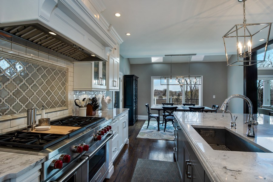 Real Estate Photography - 5 Wescott Lane, South Barrington, IL, 60010 - Kitchen