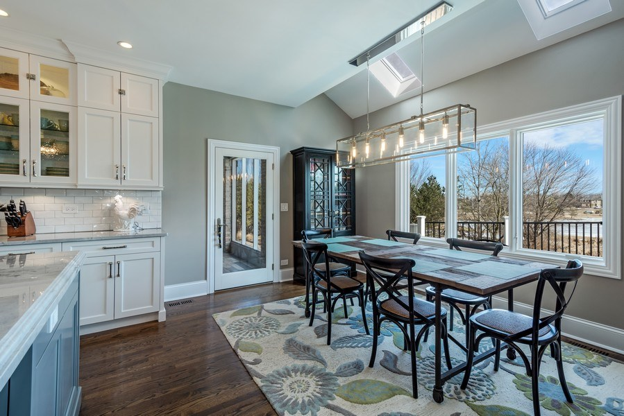 Real Estate Photography - 5 Wescott Lane, South Barrington, IL, 60010 - Breakfast Area