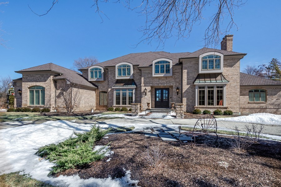 Real Estate Photography - 5 Wescott Lane, South Barrington, IL, 60010 - Front View