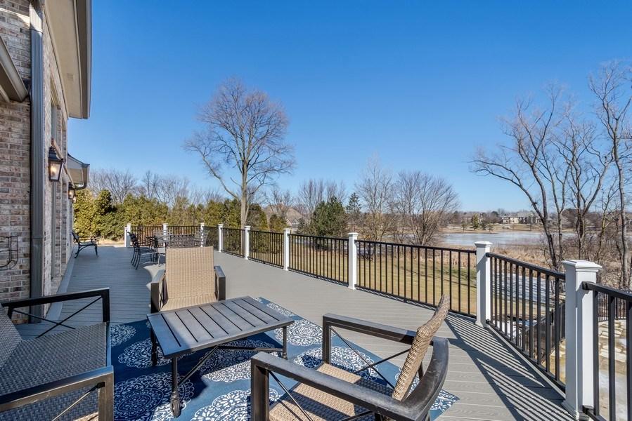 Real Estate Photography - 5 Wescott Lane, South Barrington, IL, 60010 - Deck