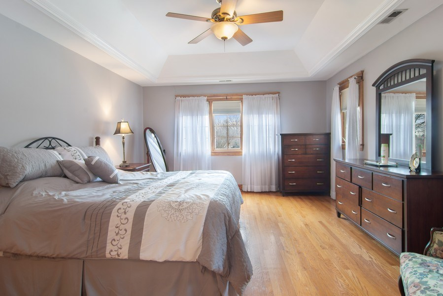 Real Estate Photography - 1001 Wildwood, Mt Prospect, IL, 60056 - Master Bedroom
