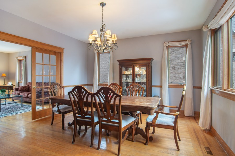 Real Estate Photography - 1001 Wildwood, Mt Prospect, IL, 60056 - Separate Dining Room