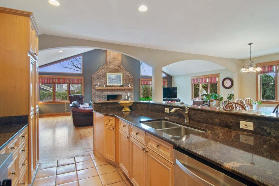 Real Estate Photography - 1001 Wildwood, Mt Prospect, IL, 60056 - Great Room