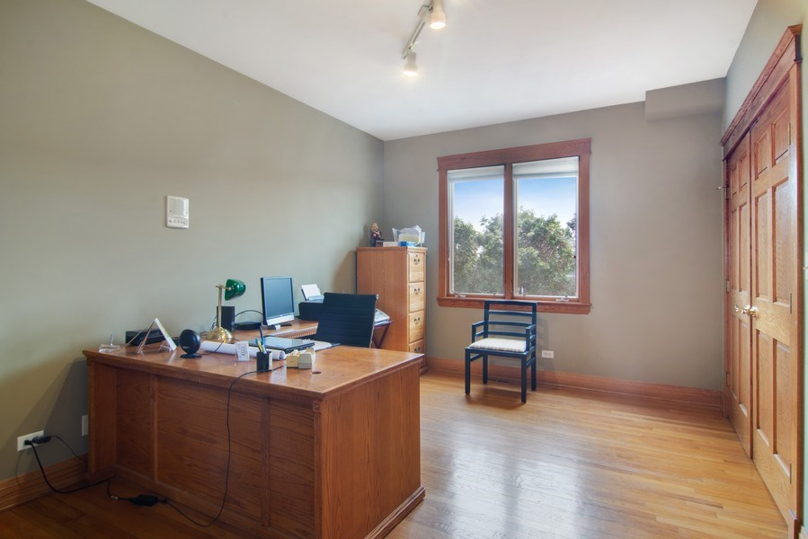 Real Estate Photography - 1001 Wildwood, Mt Prospect, IL, 60056 - 1st Floor Study/Office or Bedroom 5