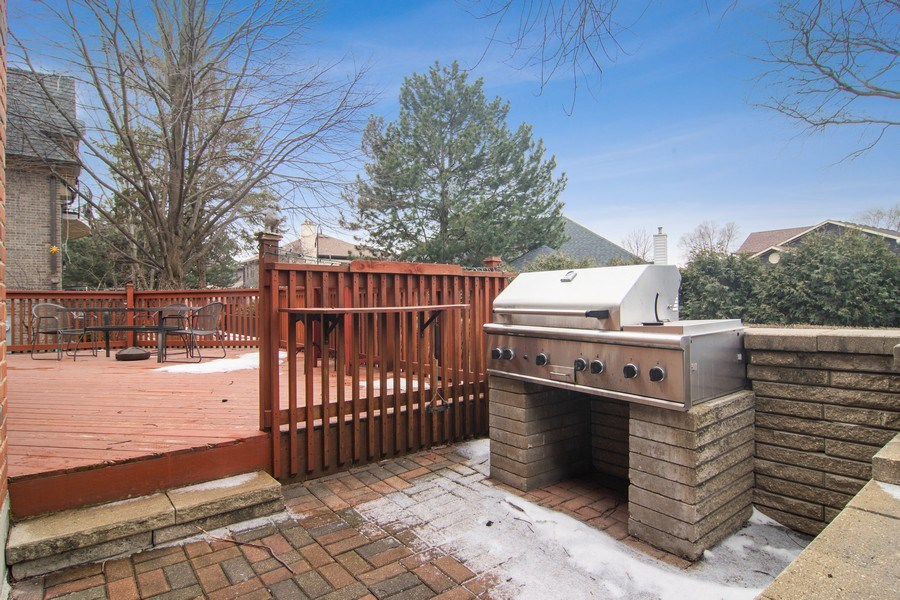 Real Estate Photography - 1001 Wildwood, Mt Prospect, IL, 60056 - Patio