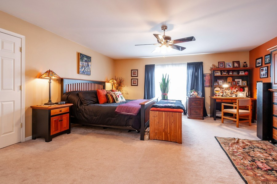 Real Estate Photography - 39073 N Ogden Ln, Beach Park, IL, 60083 - Master Bedroom