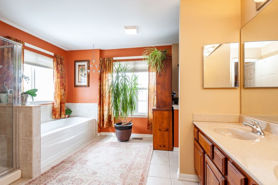 Real Estate Photography - 39073 N Ogden Ln, Beach Park, IL, 60083 - Master Bathroom