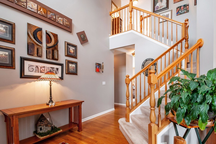 Real Estate Photography - 39073 N Ogden Ln, Beach Park, IL, 60083 - Staircase