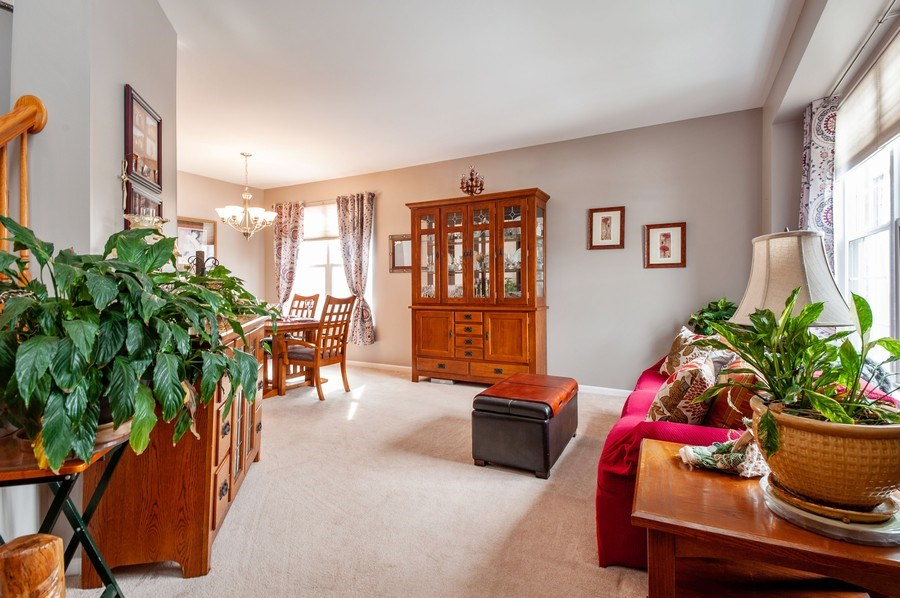 Real Estate Photography - 39073 N Ogden Ln, Beach Park, IL, 60083 - Living Room/Dining Room