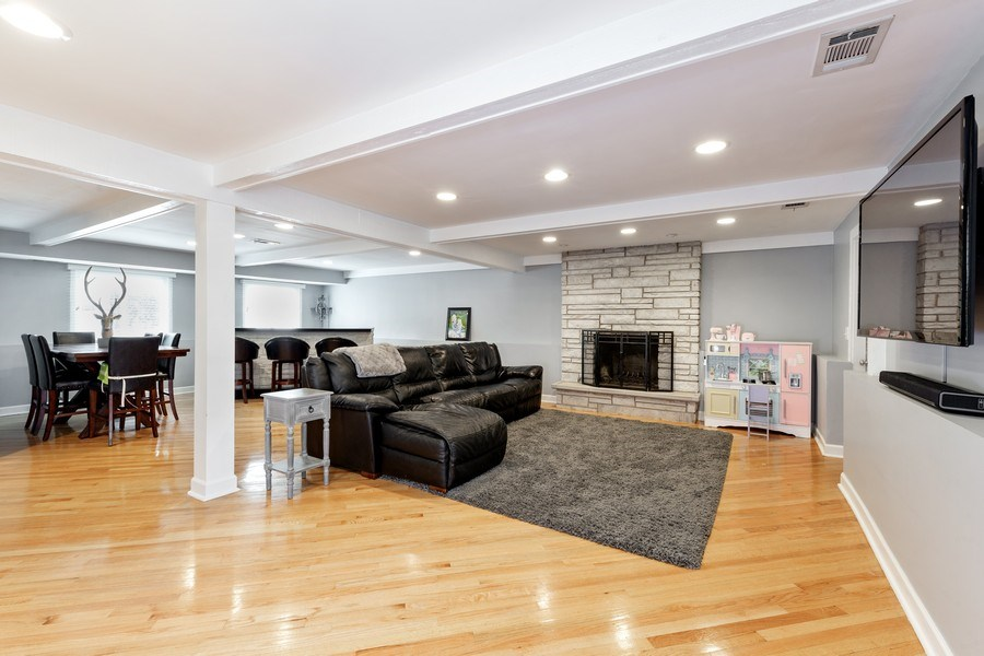 Real Estate Photography - 832 Cambridge Row, Addison, IL, 60101 - Lower Level