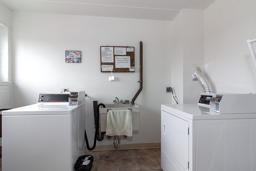 Real Estate Photography - 5300 Walnut Ave, 18C, Downers Grove, IL, 60515 - Laundry Room