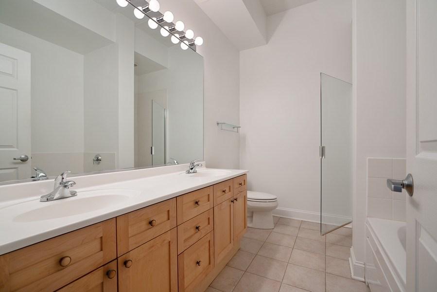 Real Estate Photography - 1301 W. Washington, Unit 306, Chicago, IL, 60607 - Master Bathroom