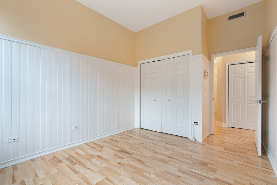 Real Estate Photography - 1301 W. Washington, Unit 306, Chicago, IL, 60607 - 2nd Bedroom