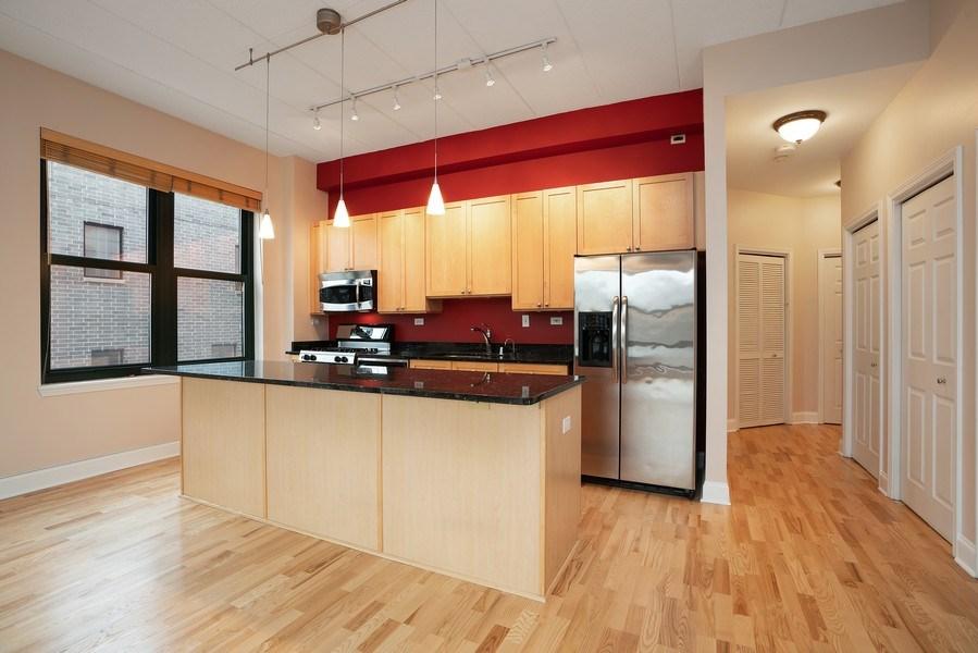 Real Estate Photography - 1301 W. Washington, Unit 306, Chicago, IL, 60607 - Kitchen