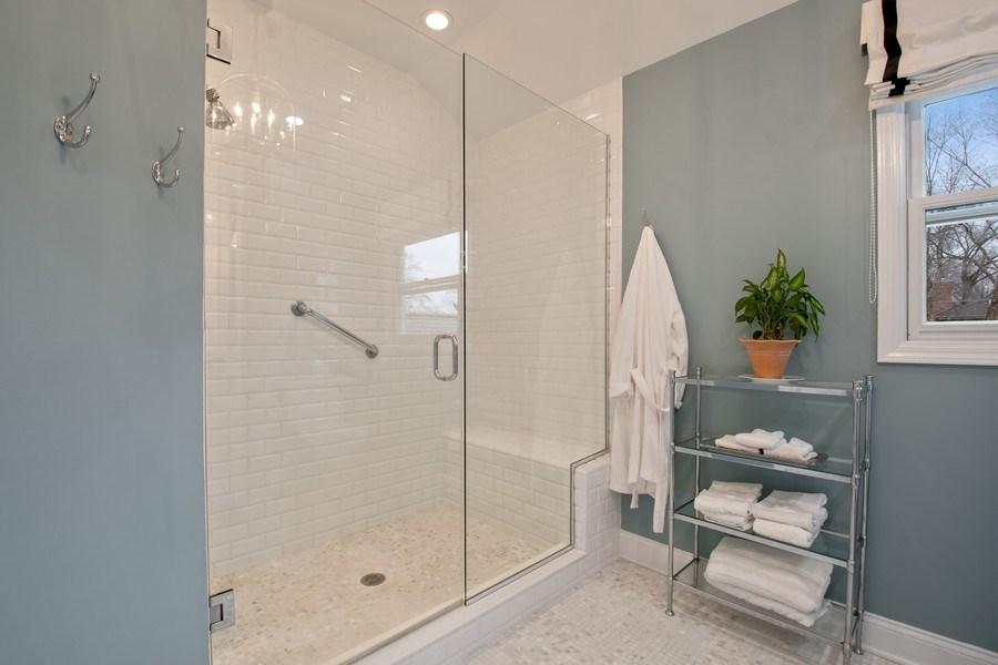 Real Estate Photography - 2542 Illinois Road, Northbrook, IL, 60062 - Master Bathroom