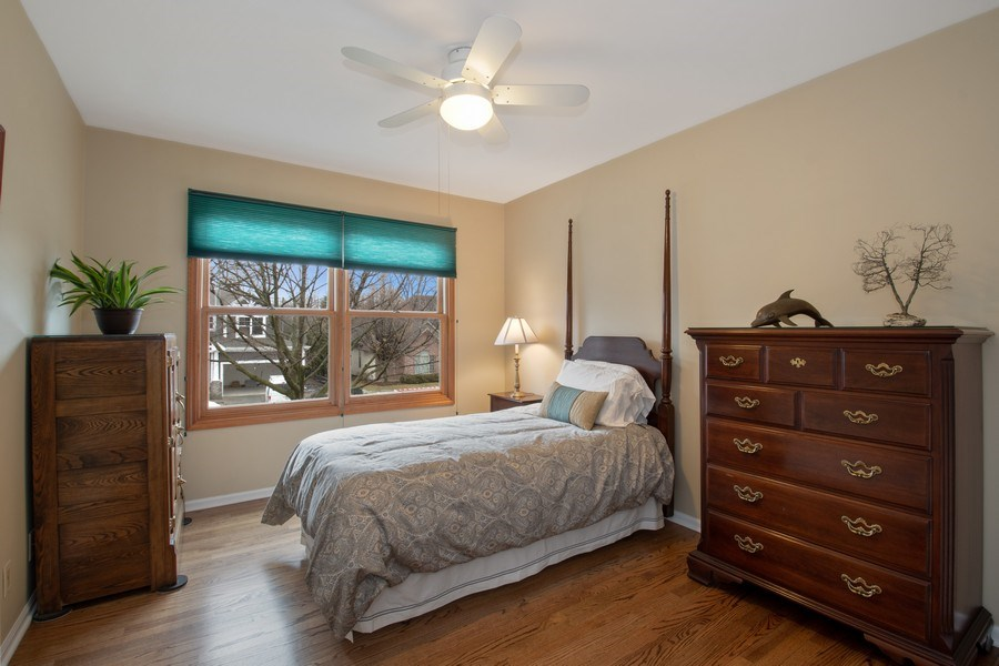 Real Estate Photography - 2542 Illinois Road, Northbrook, IL, 60062 - 2nd Bedroom