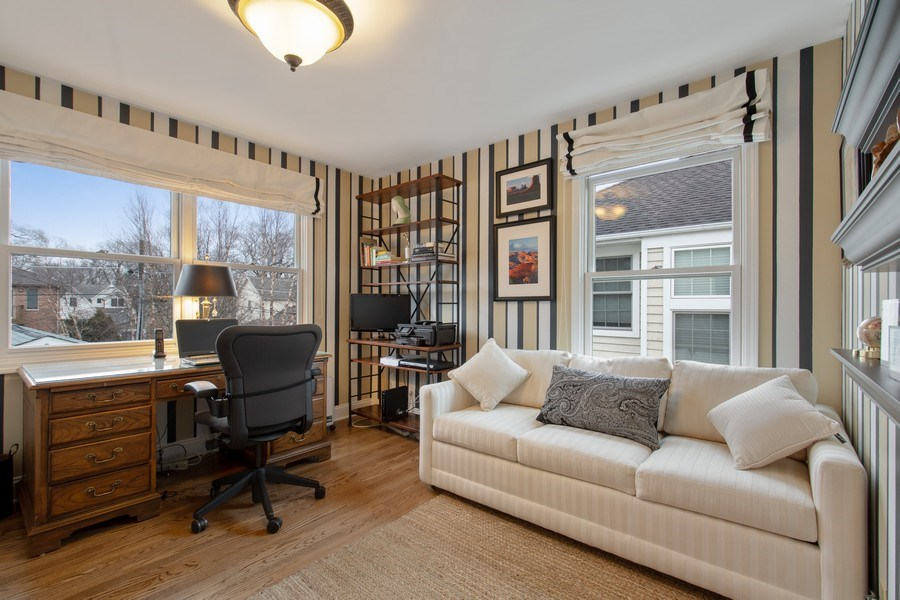 Real Estate Photography - 2542 Illinois Road, Northbrook, IL, 60062 - 3rd Bedroom