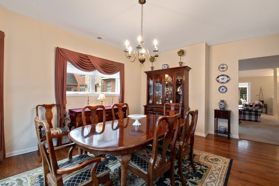 Real Estate Photography - 2542 Illinois Road, Northbrook, IL, 60062 - Dining Room