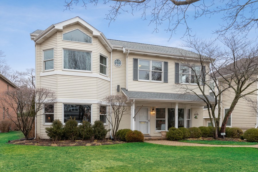 Real Estate Photography - 2542 Illinois Road, Northbrook, IL, 60062 - Front View