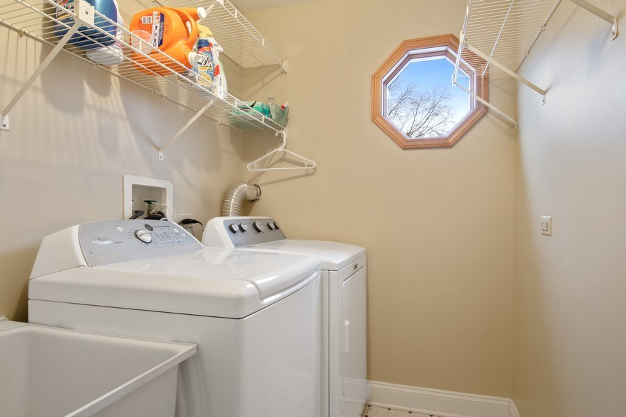 Real Estate Photography - 2542 Illinois Road, Northbrook, IL, 60062 - Laundry Room