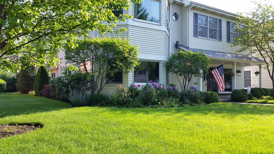 Real Estate Photography - 2542 Illinois Road, Northbrook, IL, 60062 - Summer Front View