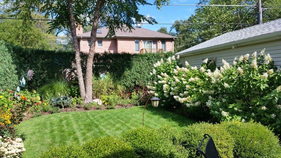 Real Estate Photography - 2542 Illinois Road, Northbrook, IL, 60062 - Back Yard