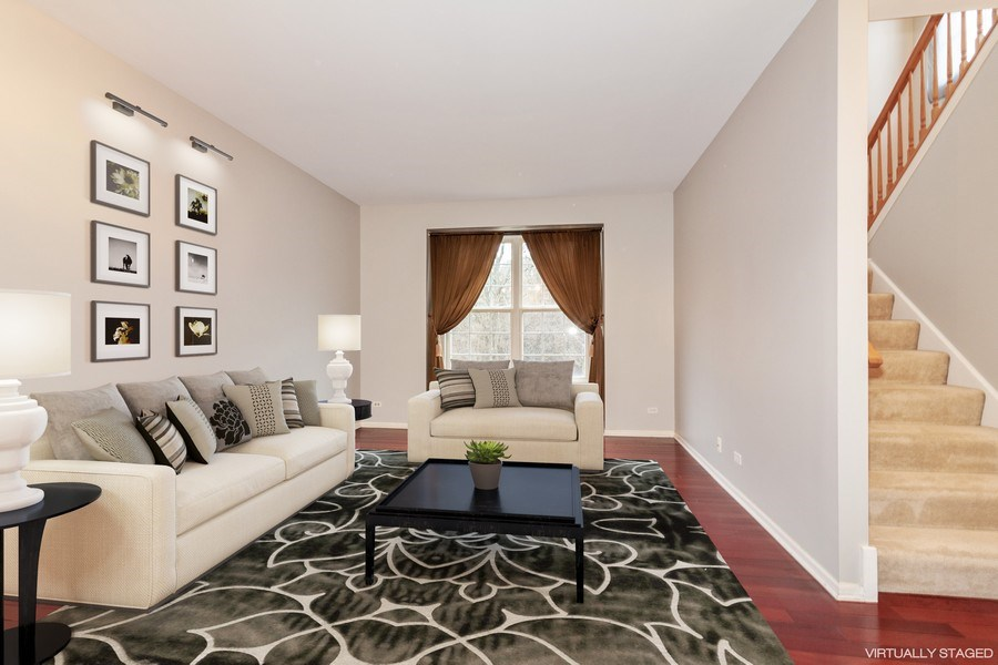 Real Estate Photography - 11s520 Rachael Court, Willowbrook, IL, 60527 - Living Room