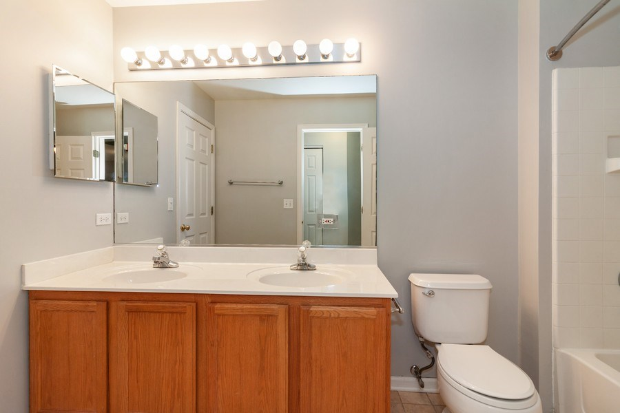 Real Estate Photography - 11s520 Rachael Court, Willowbrook, IL, 60527 - Master Bathroom