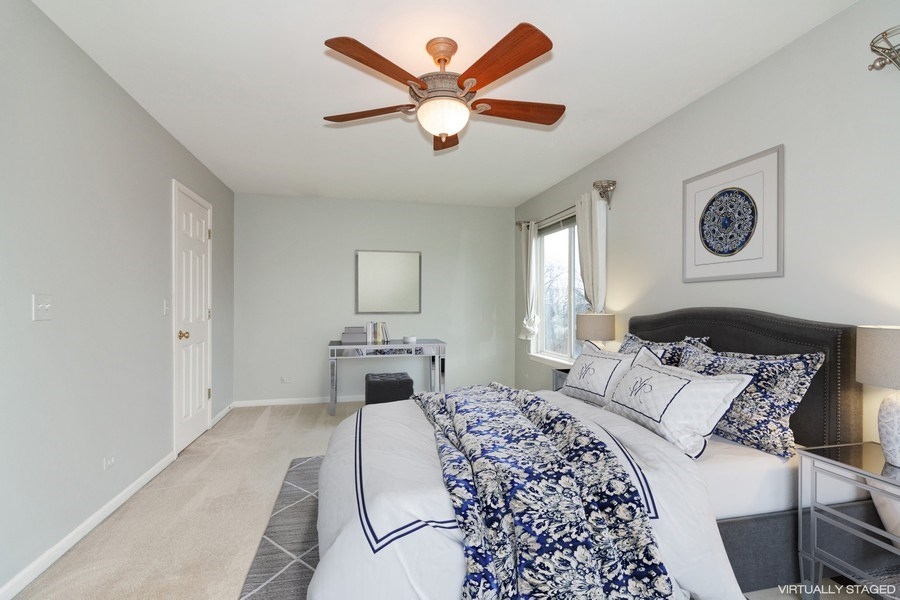 Real Estate Photography - 11s520 Rachael Court, Willowbrook, IL, 60527 - Master Bedroom